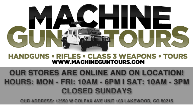 Machine Gun Tour's Store