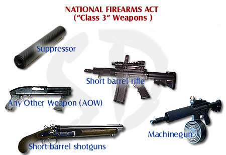 class 3 firearms