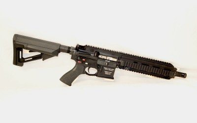 Shoot an HK 416