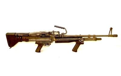 Shoot an M-60E3 Beltfed