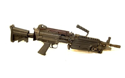 Shoot a Saw M249