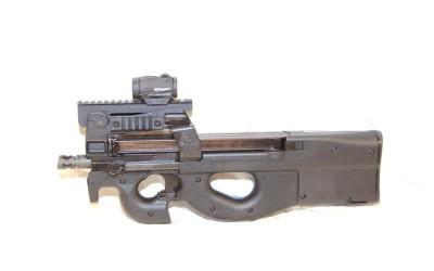 Shoot an FN P90