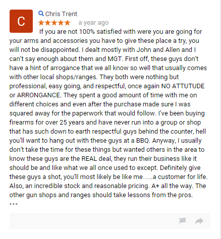 Gun Shop review