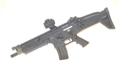 Shoot a FN USA SCAR-16 CQC 5.56mm